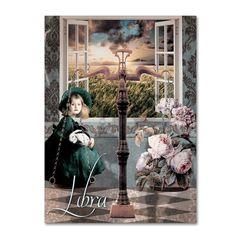Color Bakery 'Art Nouveau Zodiac Libra' Canvas Art