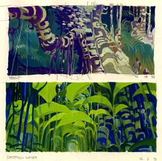 early jungle sketches