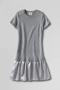Girls' Short Sleeve Sweater Duet Dress from Lands' End--for Hannah from her Aunt--so in LOVE w/ this dress and wish they made it in my size!!!