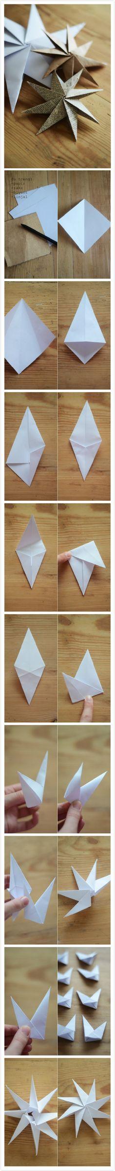 Etoiles de papier