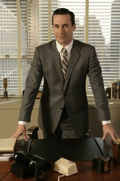 "Don Draper (Jon Hamm),""Mad Men"", season 2"