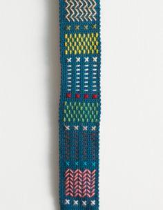 Cinturón bordado // Embroidered Belt