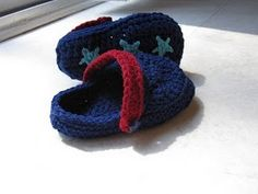 Toddler Crocs free pattern