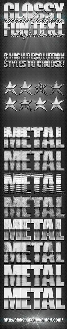 "Genuine Glossy Metal ""Reborn"" Style by alekSparx"