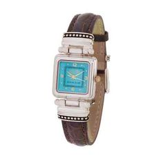ECCLISSI Sterling Silver Watch QVC Leather band  @eBay! http://r.ebay.com/zxPgDO