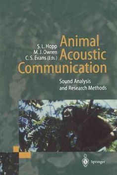 Animal Acoustic Communication: Sound Analysis and Research Methods