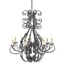 Italian Chandelier by Ella Home Available at Mayer Lighting Showroom www.mayerlighting.com