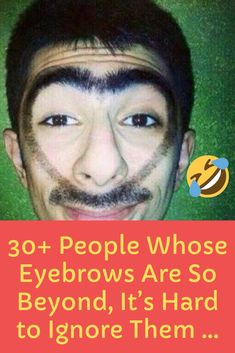 Eyebrows might seem like they're not important, except for protecting our eyes from dirt, but… Wtf Fun Facts, Famous Celebrities, News Update, Movies To Watch, Eyebrows, Fails, Funny Jokes, Entertaining, Eyes