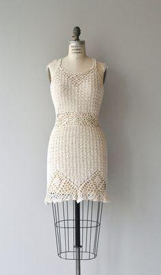Vintage 1970s ivory cotton crochet mini halter dress with alluring open back. --- M E A S U R E M E N T S ---  fits like: small/medium bust: 32-34
