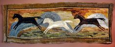Rug hooking as part of home decor, artistic craft  With yards of fabric and a simple hooking tool, Mary Jo Lahners paints with wool.