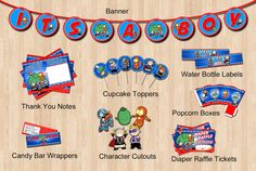 baby avenger baby shower package digital sale baby avenger baby shower
