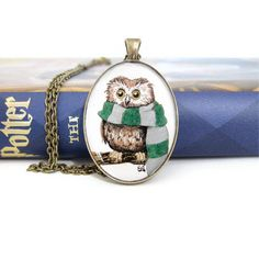 Cute owl would love it with a Gryffindor