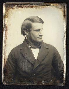 Francis Parkman (1823-93). A Southworth and Hawes daguerrotype.