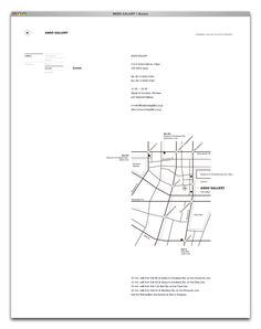 ANDO GALLERY | Semitransparent Design™ Page Design, Book Design, Layout Design, Urbane Analyse, Self Branding, Wayfinding Signage, Web Design Inspiration, Minimal Design, Brochure Design