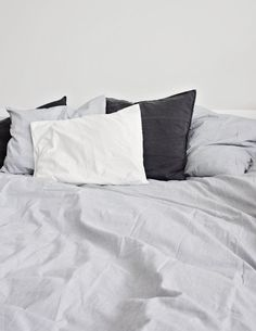 H & M sheets, recommended by many bloggers