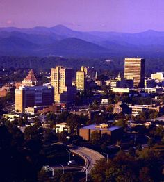 Asheville, in the beautiful mountains of Western North Carolina