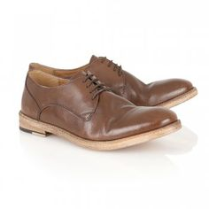 Bognor Brown Leather Lace Up Shoe