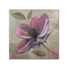 Found it at Wayfair - 'Plum Floral III' by Emily Adams Painting Print on Wrapped…