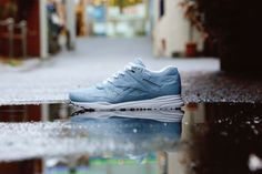 BEAMS x Reebok Ventilator SP: Blue Oxford