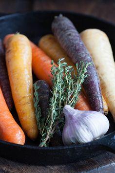 Zanahorias y pastinaca al horno con miel (wortelen en pastinaak in de oven met honing)