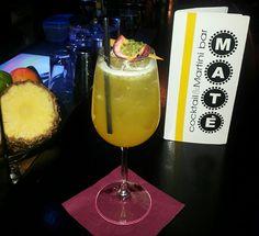 Passion Fruit Bellini.  #Cocktails #Bardolino #PassionFruit #BelliniCocktail #Drinks