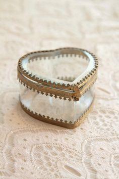 Porte alliances crin wedding ring box - Porte alliance vintage ...