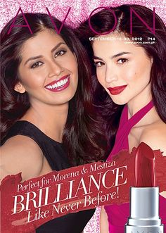 	New Ultra Color Rich Brilliance Lipstick. Shimmering pear finish for dazzling lip color that looks like it was made just for you! Get a flash of brilliance with every swipe. 	With prismatic pearls for brilliant moisturizing color designed to complement your skin tone. 	Bold and bright shades best for Mestiza. Deep and rich shades best for Morena.  Avon Philippines - #makeup, #skincare, #personalcare, #fragrance, #intimateapparel