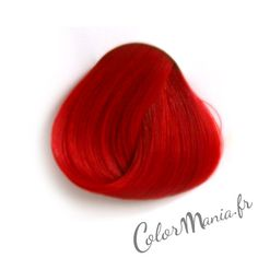 coloration cheveux rouge pillarbox directions httpwwwcolor mania - Coloration Temporaire Rose