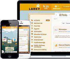 Larky - coupon clipping grandma app :)