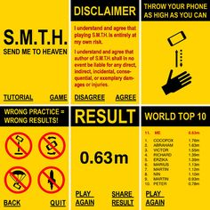 The See How High You Can Throw Your Phone App #DANGER