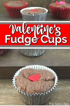 Easy fudge cups are perfect for any day, any holiday and a great way to serve fudge at parties. Make a mini dessert with Fantasy Fudge cups for Valentine's Day or any holiday. #originalfantasyfudgerecipe #valentinesdessert #minidessert Candy Recipes, Baking Recipes, Holiday Recipes, Dessert Recipes, Winter Recipes, Mini Appetizers, Mini Desserts, Easy Desserts, Valentines Day Food