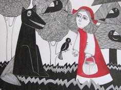 Czech Little Red Riding Hood by Karkulka
