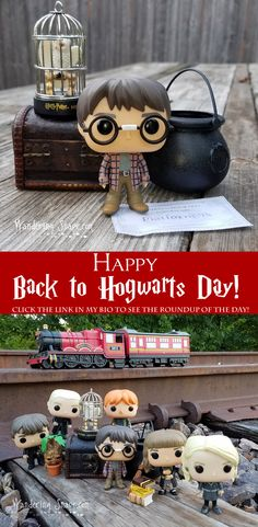 It's Back to Hogwarts Day! Click to watch Harry and Friends as they get ready for Back to School @ ThatGeekishFamily.com