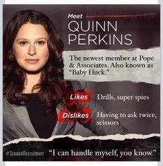 Huck and quinn hook up