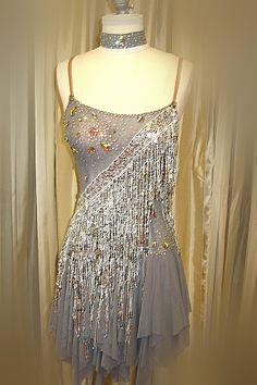 DR034 - Rhythmic Rentals - Ballroom Dress Rental