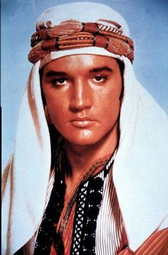 Elvis Presley - Harum Scarum The man could look good in anything.  Can you say sultry??