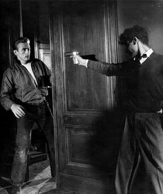 """James Dean and Sal Mineo in """"Rebel Without a Cause"""" (1955)"""
