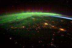 Manta eléctrica. Foto de NASA