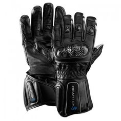BearTek SnowSport Bluetooth Gloves - touch points on the glove give you wireless control of your phone, music, media, and camera - letting you answer calls, play/pause and skip music tracks, and capture your ride in video or photos - all while simultaneously providing warmth.Includes a camera module for use with GoPro products.