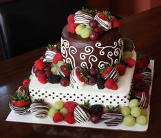... Strawberry Chocolate Cakes, Chocolate Birthday Cakes and Yummy Cakes
