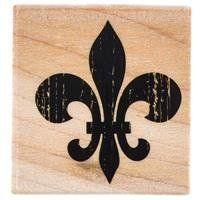 Textured FleurDeLis Rubber Stamp * See this great product.