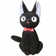 Plush Doll - Jiji (M) - H20cm - Kiki's Delivery Service - Ghibli - Sun Arrow (new)