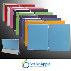 iPad 3&2 Smart Cover with Hard Back Case