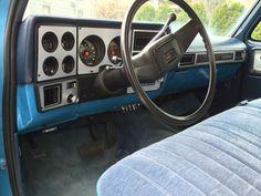 Interior ideas square body Pinterest Chevy, Chevy