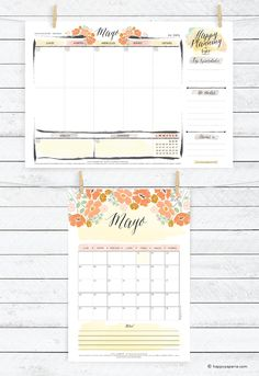 HappyPaperie®Calendario&Planner-May2015