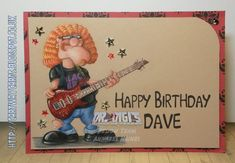 Davey Dunderton in Polychromos, Digistamp by Dr.Digi's House of Stamps, Project by Annabel (DT) @Cartway Cards