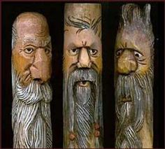 Wood Spirit Carving eProject