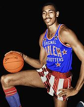 "The Harlem Globetrotters... Remember ""Curly"". Always wanted to go see them or play like them...."