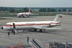 Tarom's seen first Rombac 1-11, series 561 RC YR-BRA , seen at Berlin Schonefeld may 1984