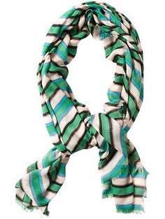 Marc by Marc Jacobs striped scarf